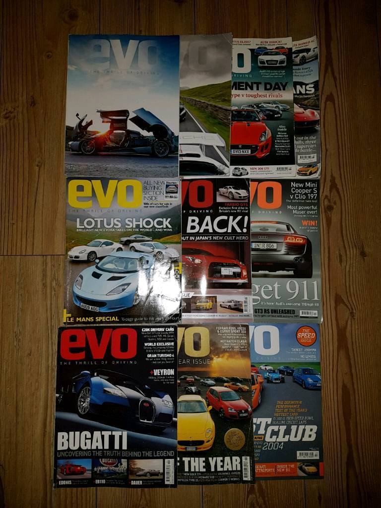 Evo Magazine Job Lot (10 Issues)