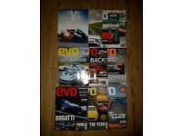 Evo Magazine Job Lot (10 Issues)