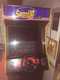 Arcade driving machine/Mancave /Gaming/