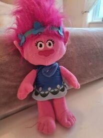 Trolls Poppy soft toy