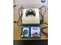Sony PlayStation 4 Slim, Includes controller x1 Need For Speed and Batman Return to Arkham