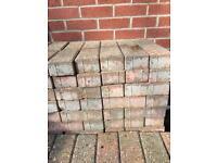 Brick weave paving bricks