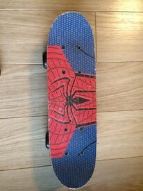 Spider-Man skateboard for £2