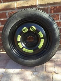 Citroen C3 Picasso Space Saver Wheel and Tyre