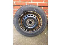 Vw t4 steel wheels and tyres Volkswagen transporter