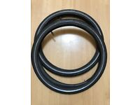 2 x Brompton tyres and inner tubes