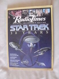 BBC Radio Times STAR TREK 30 Years Official Collector's Edition 1996