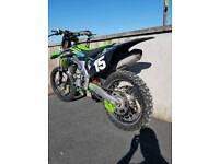 Kawasaki 250f 2013 motocross dirt bike scrambler mx