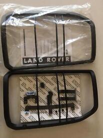 Landrover Discovery 3 REAR lamp/light Guard Kit