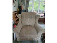 Steed Lincoln sofa and matching gents chair