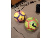 2 X footballs for sale
