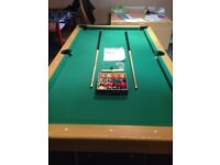 Debut 6f Folding Pub Style Pool table