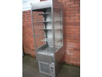 Stainless steell chill display cabinet