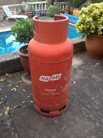 19kg Gas Bottle - 1/4 - 1/3 full.