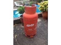 19kg Gas Bottle - 1/4 - 1/3 full.