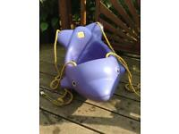 Dolphin toddler swing seat