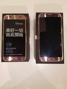 brand new unlocked samsung galaxy S7 or S7 Edge LTE Dual SIM **Pink**