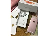 IPHONE 6S plus 64gb Unlocked Rose Gold (MINT CONDITION)