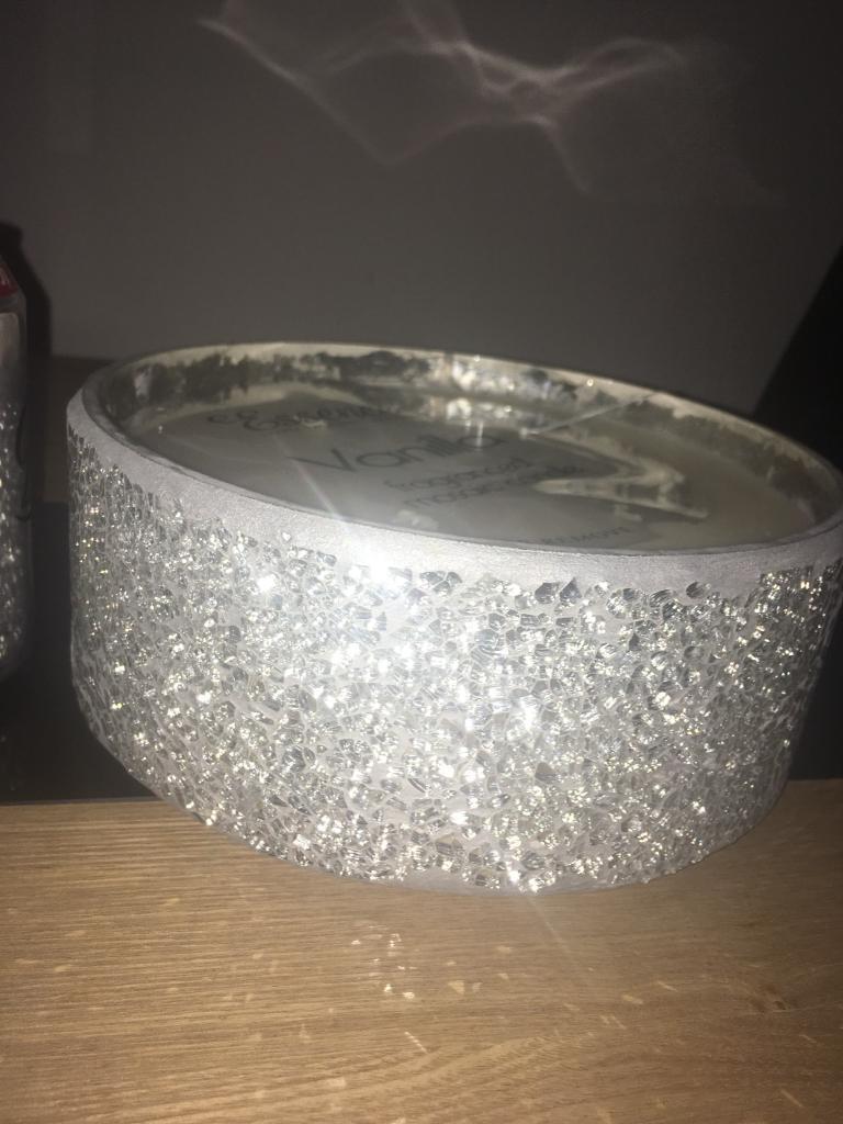 Xl mosaic candle