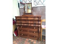 Antique Ogee Chest of Drawers