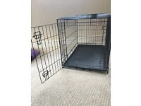 Large Single Door Dog Crate - immaculate condition