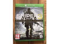 Sniper ghost warrior 3 , Xbox one , as New ! Price stands , no offers !