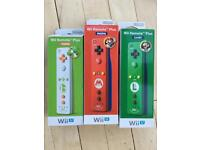 Mario, Luigi & Yoshi Wii Remote Plus- hugely collectible