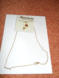 Mandarin Genuine Cloisonne Necklace with the Letter P