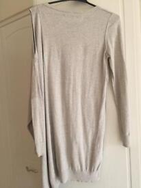 All Saints cream jumper (with cut out shoulder) size 10-14