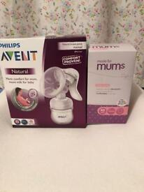 Philips Avent Natural Comfort Breast Pump & Bottle