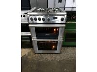 Cannon Stainless steel 60cm Full Gas Double Oven cooker(BRING YOUR OLD ONE AND GET NEW-25%)