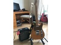 Fender Player Telecaster Butterscotch and Fender Amp