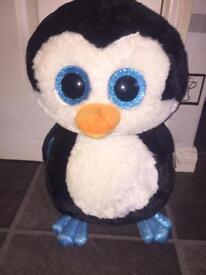 Large penguin ty teddy