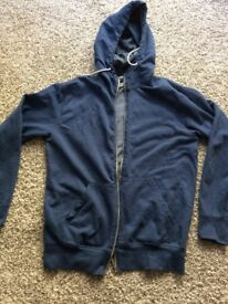 PIERRE CARDIN mens hoodie jacket size Medium used once mint condition !