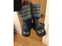 Denim Ugg boots for sale size 5.5