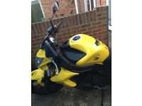 KAWASAKI ER6N 2012, BLACK/YELLOW, GOOD CONDITION, FSH