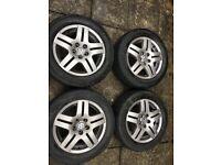 Volkswagen genuine Alloy wheels 5x100