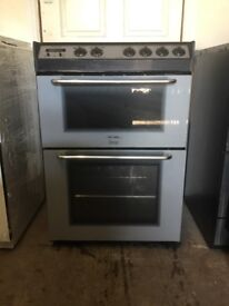 Tricity bendix electric cooker 60cm silver ceramic double oven 3months warranty free local delivery!