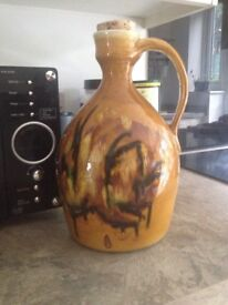 Vintage big oil jar