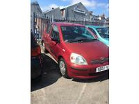 2002 TOYOTA YARIS 1.0 PETROL MANUAL 5 DOOR