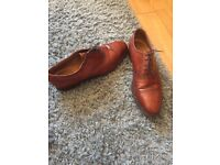 Hipton and Heneage brown dress shoes
