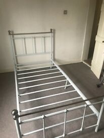 Two single bed frames £20 each pick up Chipping Ongar only