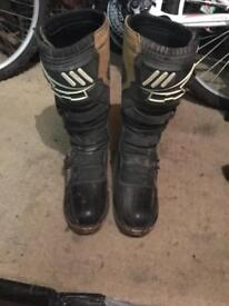 Used motocross boots