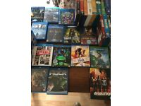 Collection of blu-rays and dvds available for cheap price!!
