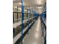 40 bays dexion impex industrial shelving ( storage , pallet racking )