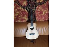 Martin LX1 Little Martin X Acoustic Guitar (with Gig Bag and Capo)