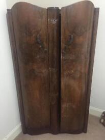 Vintage Retro Ronson Craftsman built Wardrobe