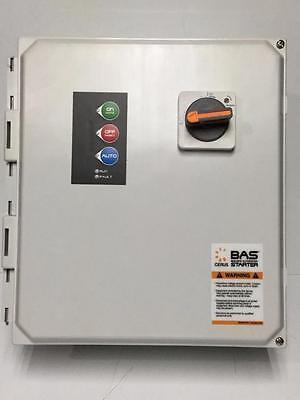 Cerus Basxf-18jg2.5-5 Enclosed Industrial Control Panel Bas 208230460v Nos