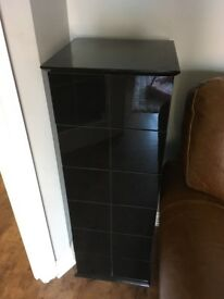 Black Gloss Drawers