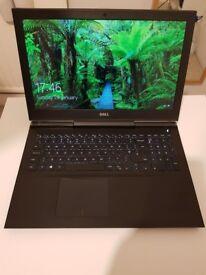 "Dell Gaming Laptop 4K 15"", i7, 512 GB SSD, 16 GB"